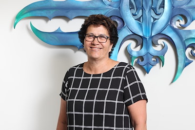 Co-Lead External Relationships Manager for the Māori Land Service, Rachel Jones.