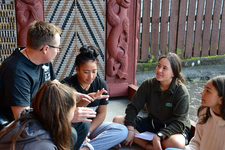 With support from He kai kei aku ringa, Young Enterprise ran a series of Business Challenges for rangatahi to develop their entrepreneurial skills and connect with their local business community.