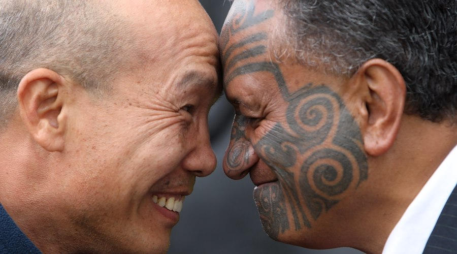 The coming together of two cultures at the Taniwha and Dragon Festival, the first ever festival to unite Māori and Chinese.