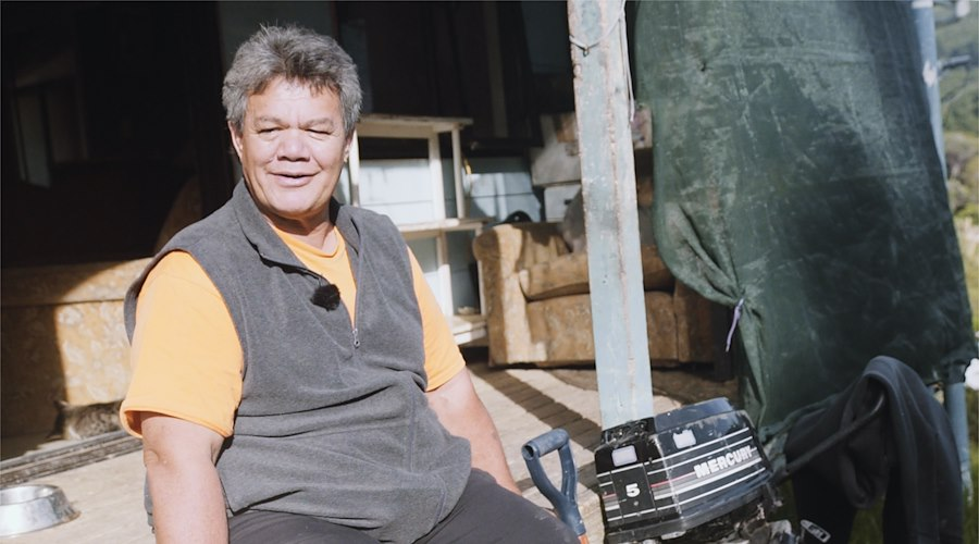 The Sanderson whānau are a part of a community housing repair project run by Te Rūnanga o Whaingaroa in Kaeo which secured funding through the Māori Housing Network. Photographer: Chevon Horsford