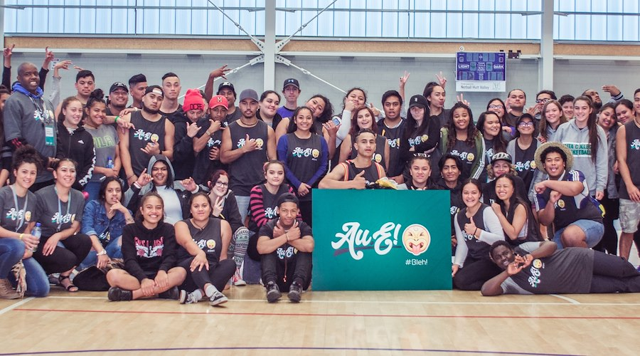 Nearly 100 rangatahi Māori attended the Au.E! conference in Taita, Wellington in May 2017. The hui focused on delivering positive messages and sharing motivational experiences.