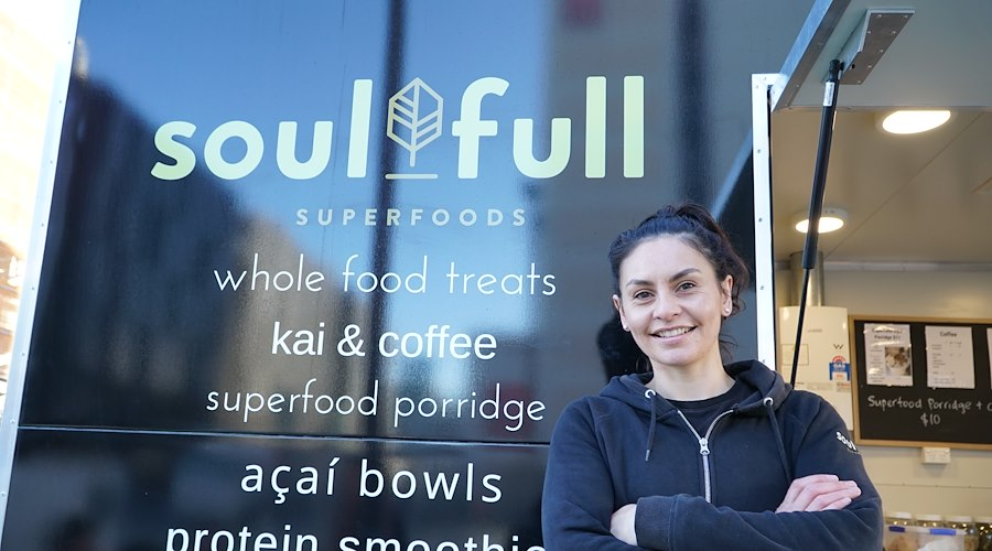 Soul Full, a food truck offering healthy options to Christchurch whānau, has grown leaps and bounds with support through Whānau Ora commissioning.